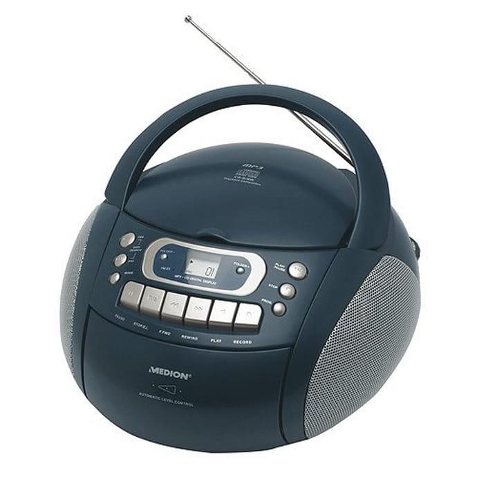 Radioodtwarzacz Medion CD MP3 Radio Kaseta MD82817